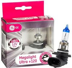 General Electric Hb3 12V 60W P20D Megalight Ultra +120% Ge
