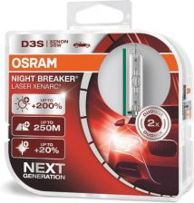 Osram D3S Xenarc Night Breaker Laser DuoBox 66340XNLHCB