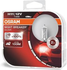 Osram H11 Night Breaker Silver + 100% DuoBox