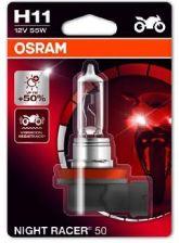 Osram Night Racer 50% H11 12V 55W Pgj19-2 64211 64211Nr501B