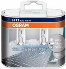 Osram Silverstar 2.0 60% H11 12V 55W Duo Box 64211Sv2Duo