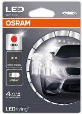 Osram W5W Red 12V 0 5W W2.1X9.5D Z