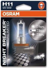 OSRAM ŻARÓWKA H11 12V 55W NIGHT BREAKER UNLIMITED SB 64211NBU01B