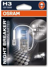 OSRAM ŻARÓWKA H3 12V 55W NIGHT BREAKER UNLIMITED SB 64151NBU01B