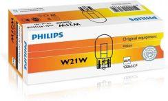 PHILIPS 12V 21W W21W T20d W3x16d, 10 szt.