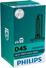 Philips D4S 42V 35W P32D-5 Xenon X-Tremevision Gen2