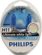 Philips H11 12V 55W Pgj19 2 Diamond Vision Philips12362Dvs2