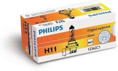 PHILIPS H11 12V 55W PGJ19-2 Vision