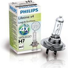 PHILIPS H7 12V 55W PX26d LongLife EcoVision
