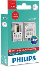 Philips P21W 12V/24V 1,9W Ba15S Led Red 12839 X2