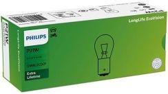 Philips P21W LongLife EcoVision 12V 21W BA15s Box 10szt.