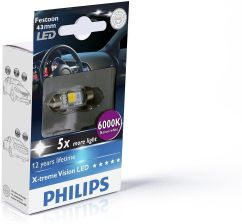 PHILIPS X-TREME VISION LED FESTOON C5W 6000K