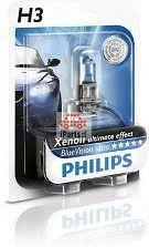 PHILIPS Żarówka H3 Philips Blue Vision PK22S 12V 55W 12336BV