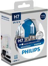 PHILIPS Żarówka H7 12V White Vision Set 2szt 12972WH + 2x W5W